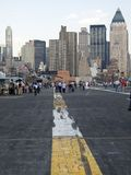 城市甲板视图 免版税库存照片
