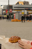 城市的传统饼 免版税库存图片