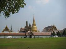 城市的佛教历史的中心在泰国曼谷 免版税库存照片