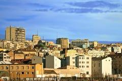 城市的全景 免版税图库摄影