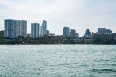 城市的全景 库存照片