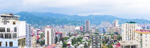 城市的全景 图库摄影