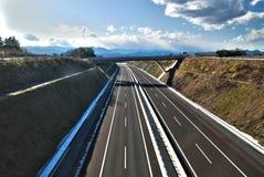 城市的公路 免版税库存图片