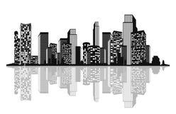 城市的剪影