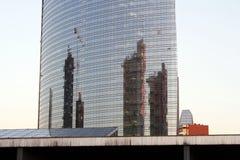城市的反射 免版税库存图片
