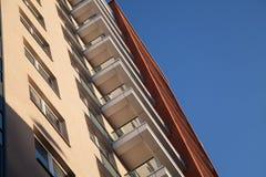 城市的建筑学 免版税图库摄影