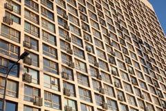 城市的建筑学 库存照片