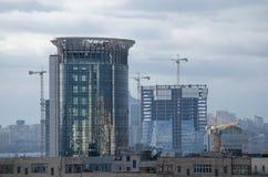 城市的成长 库存图片
