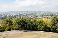 城市的概要照片 免版税图库摄影