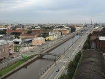 城市的照片视图 免版税库存图片