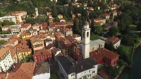 城市的看法有意大利的美好的建筑学的 股票录像