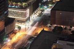 城市的看法 库存图片