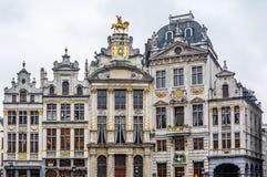城市的老街道 放松-您在布鲁塞尔! 免版税库存照片