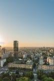 城市的视图 库存照片