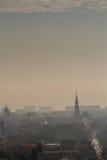 城市的视图 免版税库存照片