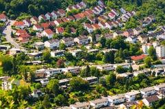 城市的郊外 免版税库存照片
