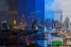 城市的高大厦 库存图片