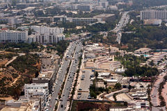 城市的主要动脉 库存图片
