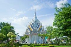 城市神khonkaen s寺庙 库存图片
