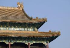 城市禁止的北京 免版税库存照片