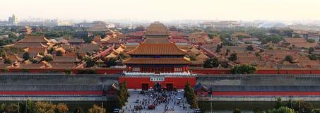 城市禁止的博物馆宫殿 免版税库存照片