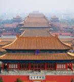 城市禁止的博物馆宫殿 免版税库存图片