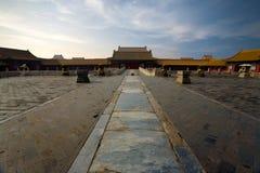 城市禁止的天堂般的宫殿纯度 免版税库存照片