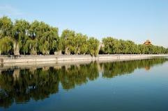 城市禁止的护城河 免版税库存图片
