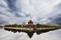 城市禁止的皇家宫殿塔楼 库存图片