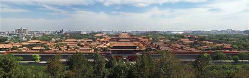城市禁止的皇家宫殿 免版税库存图片