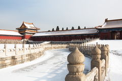 城市禁止的gugong zijincheng 免版税库存图片