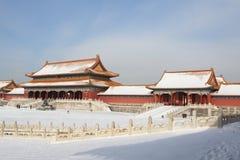 城市禁止的gugong zijincheng 图库摄影