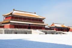 城市禁止的gugong zijincheng 免版税库存照片