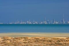 城市科威特地平线 免版税库存照片