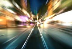 城市移动 免版税库存图片