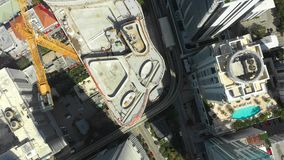 城市空中寄生虫录影迈阿密布里克尔 影视素材