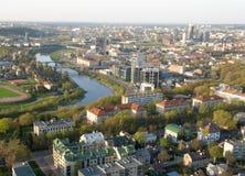 城市立陶宛维尔纽斯 图库摄影