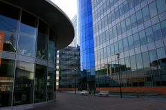 城市米兰现代季度 免版税库存照片