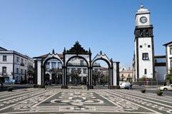 Ponta Delgada 免版税库存照片