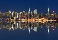城市纽约 库存照片