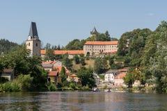 城市罗森贝里-捷克 免版税库存照片