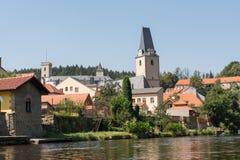 城市罗森贝里-捷克 免版税图库摄影