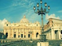 城市罗马梵蒂冈 库存图片