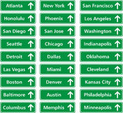 城市美国 库存图片