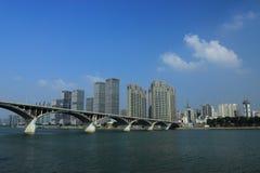 城市美好的风景  库存图片