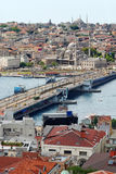 城市老伊斯坦布尔 免版税库存照片