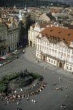 城市老正方形 库存照片