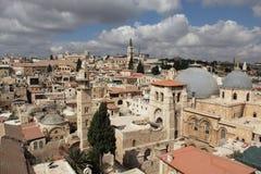 城市老耶路撒冷 库存照片