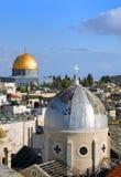 城市老耶路撒冷 免版税库存照片