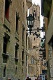 城市老街道 库存照片